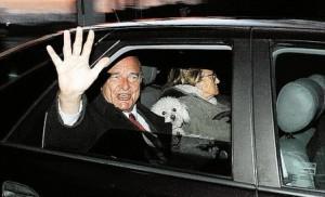 Жак Рене Ширак и мальтезе